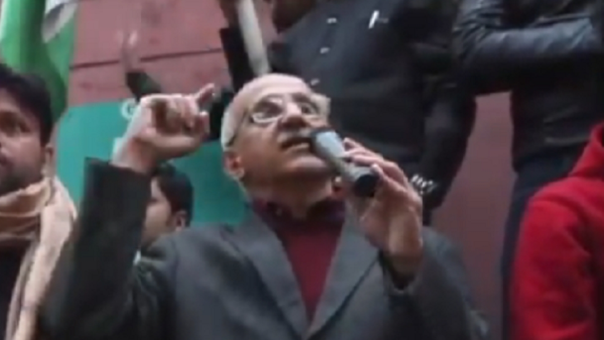 WATCH: What Harsh Mander had said during anti Citizenship Act protest