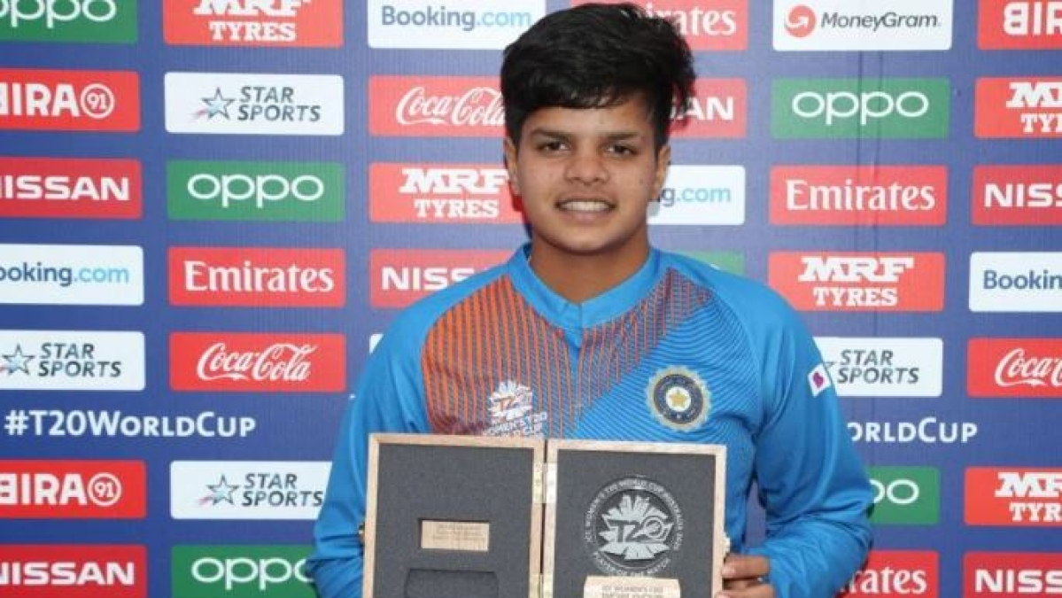 Teen sensation Shafali Verma rises to top in ICC women's T20 rankings