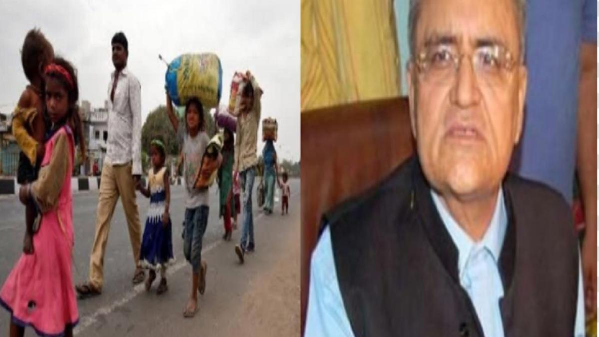 Migrant labourers irresponsible, tweets former BJP MP Balbir Punj