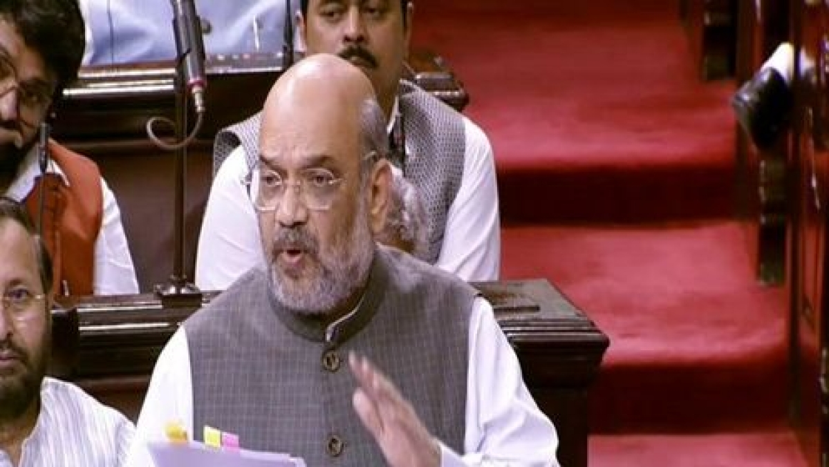 Union Home Minister Amit Shah (Photo Courtesy: Twitter/ANI)