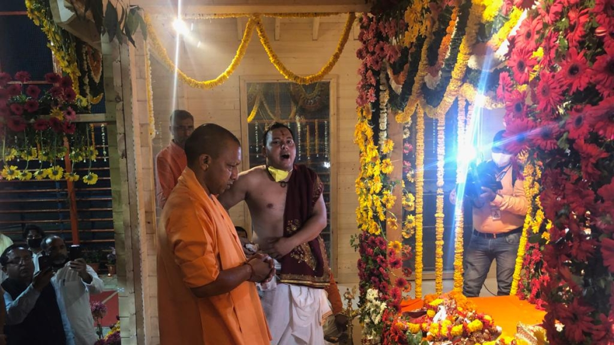 Ram Lalla shifted from tent to temporary temple