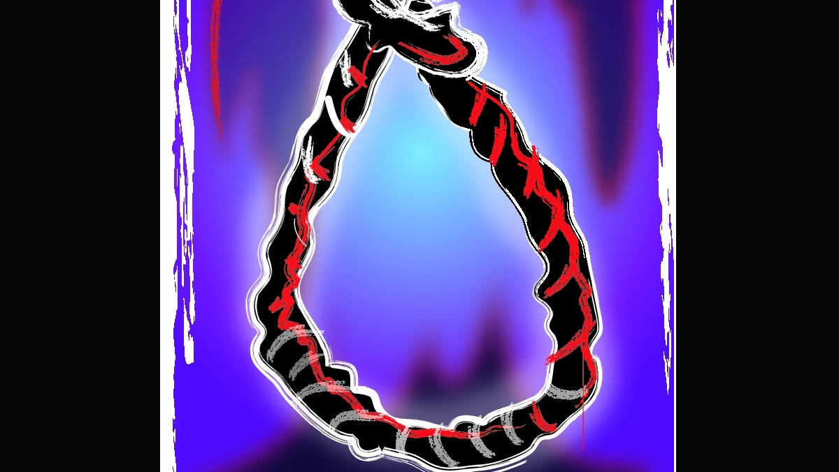 UP government teacher found hanging in police station