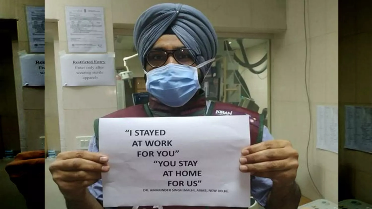 WATCH: Doctor's appeal to citizens globally, 'Stay home, stay safe' to lessen virulence of Coronavirus