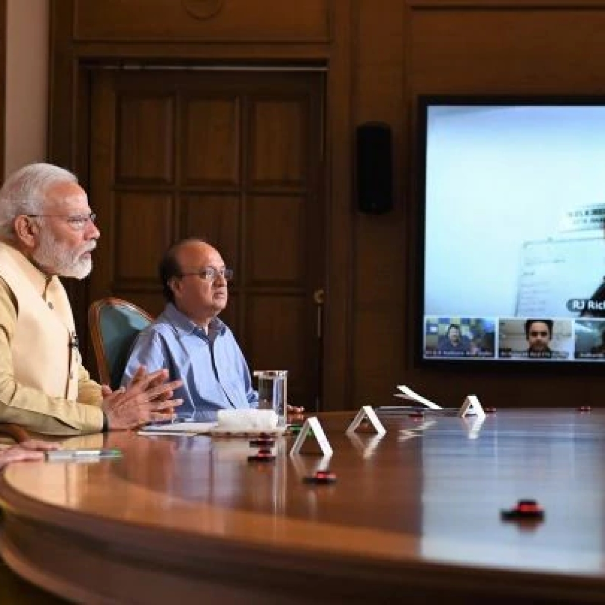 Prime Minister interacts with Radio jockeys, asks them to highlight dedication of the police