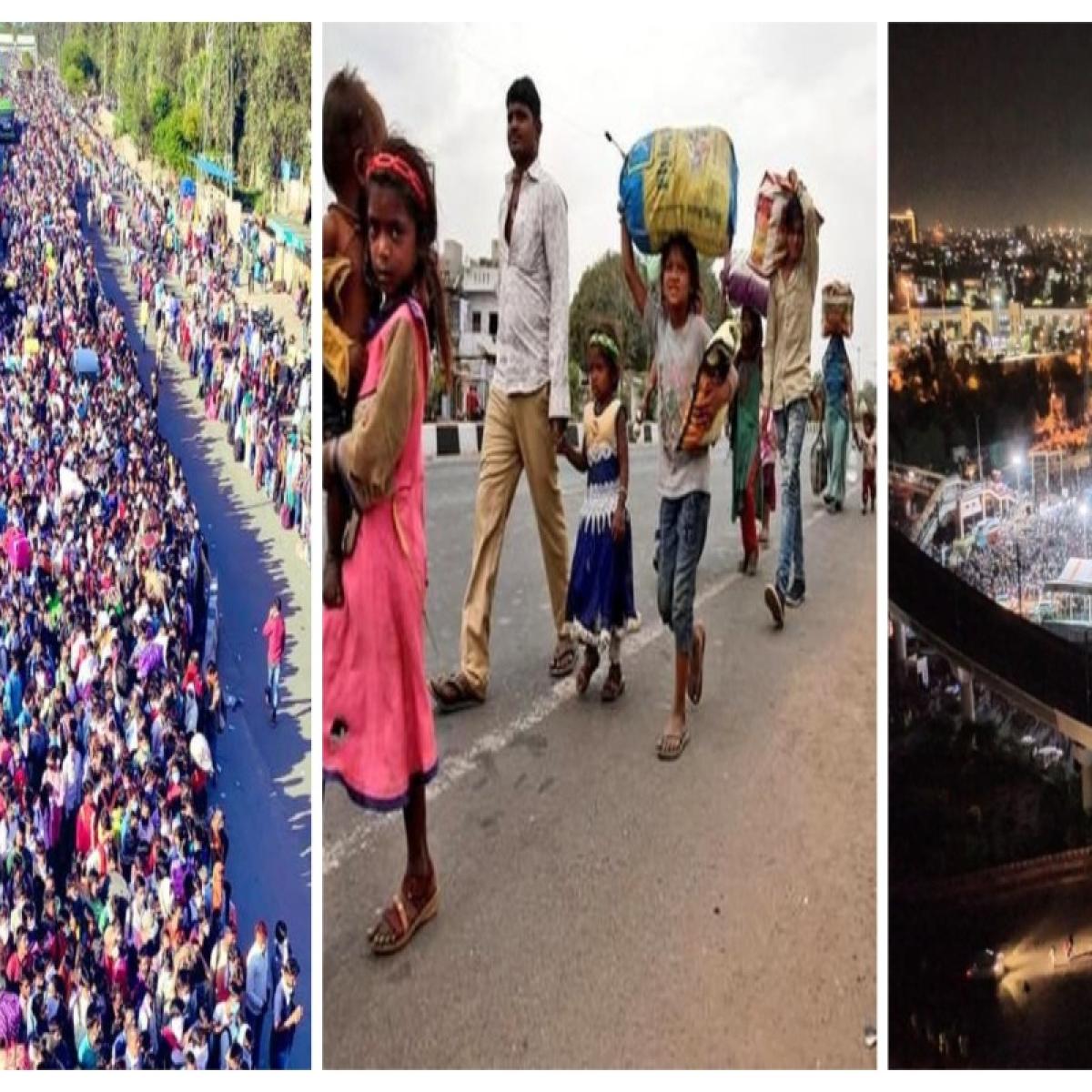 Lockdown impact: 'Virus of hunger is deadlier than coronavirus,' say stranded migrants at Anand Vihar