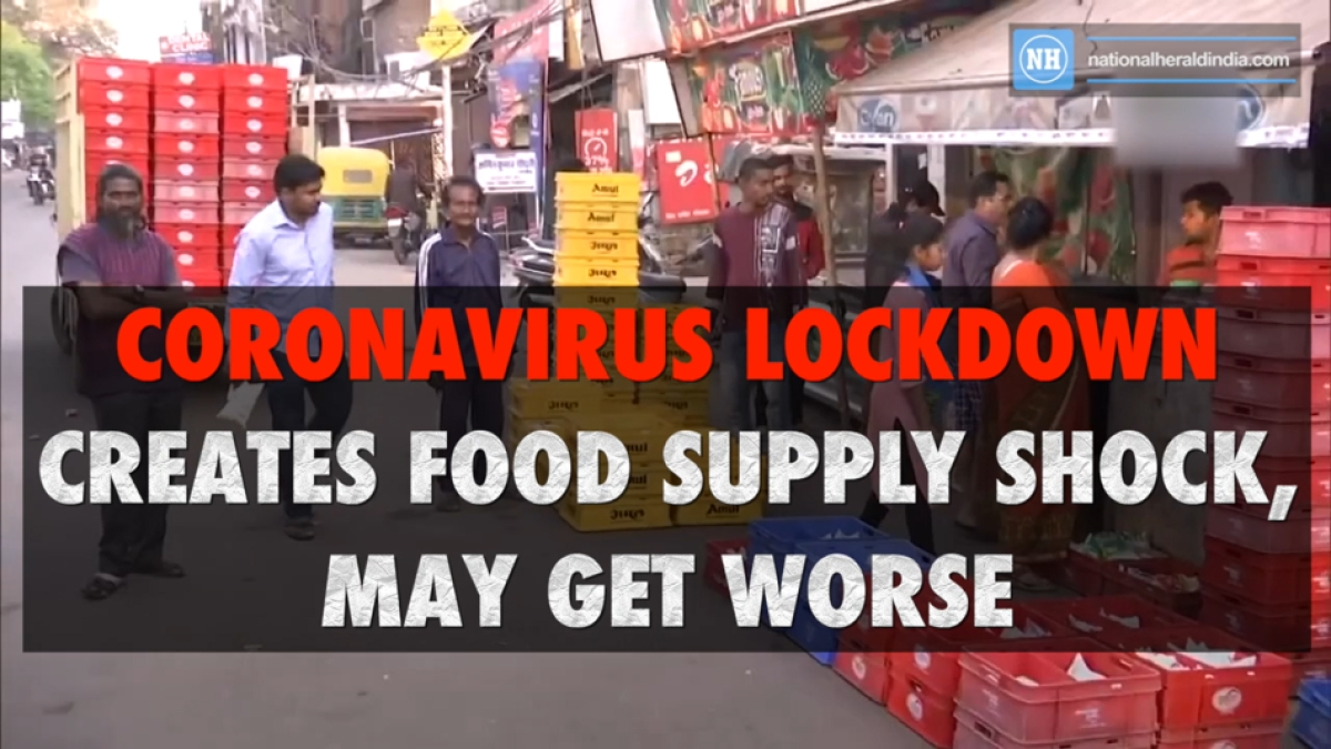 Coronavirus lockdown creates food supply shock, may get worse