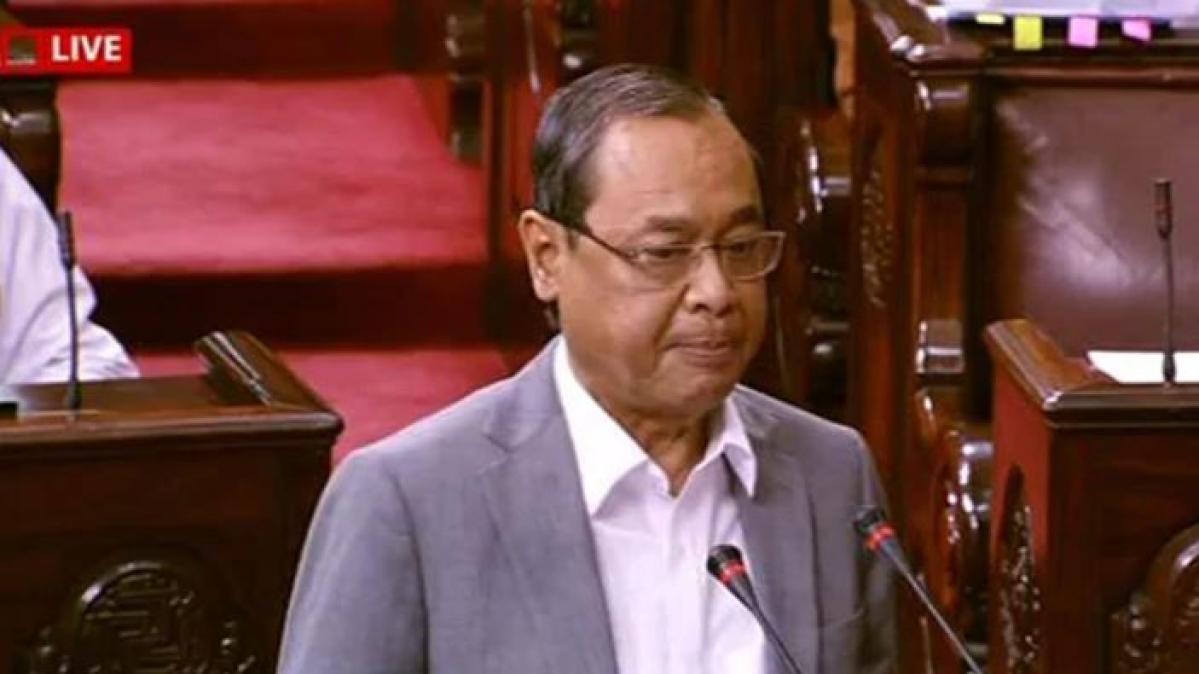 "Ex-Chief Justice Ranjan Gogoi Sworn in Rajya Sabha amid ""shame"" chants"