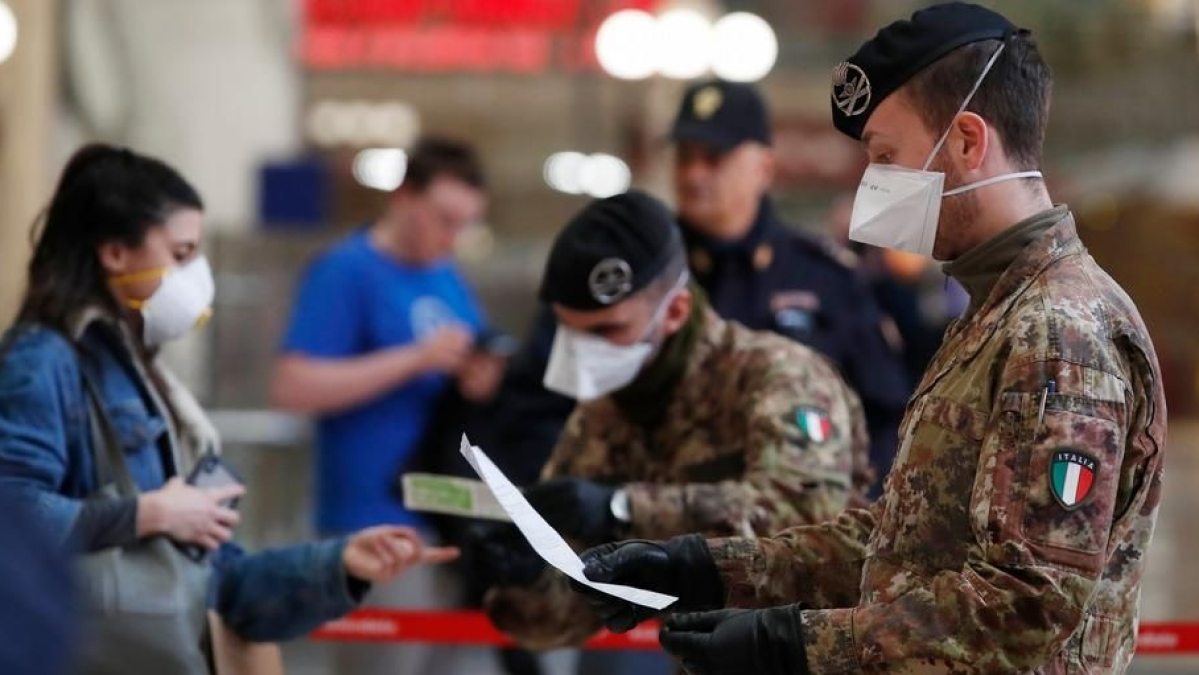 Coronavirus: Italy imposes nationwide lockdown