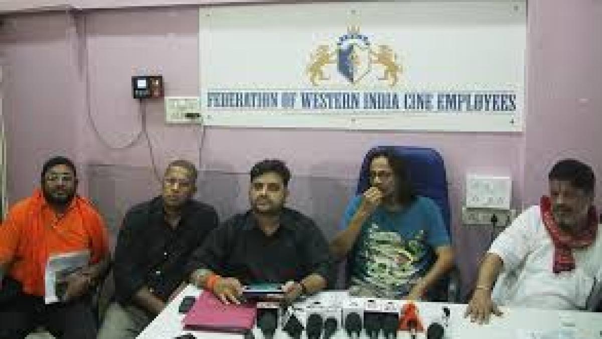 Federation of Western India Cine Employees (Photo courtesy: Facebook)