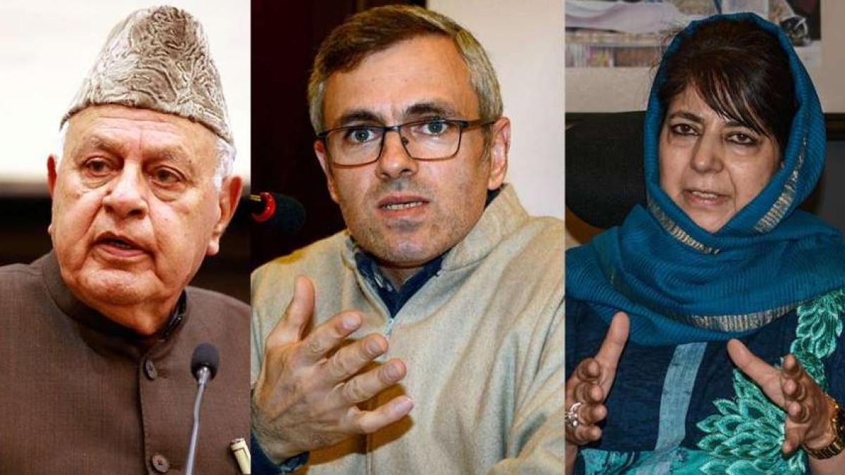 Modi govt muzzling democratic dissent : Opposition demands release of 3 former J&K CMs