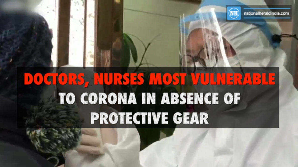 Doctors, nurses most Vulnerable to Corona in absence of protective gear
