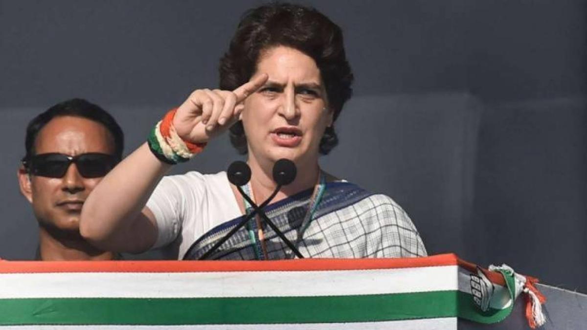 Priyanka Gandhi asks UP Congress workers to help people during lockdown in state