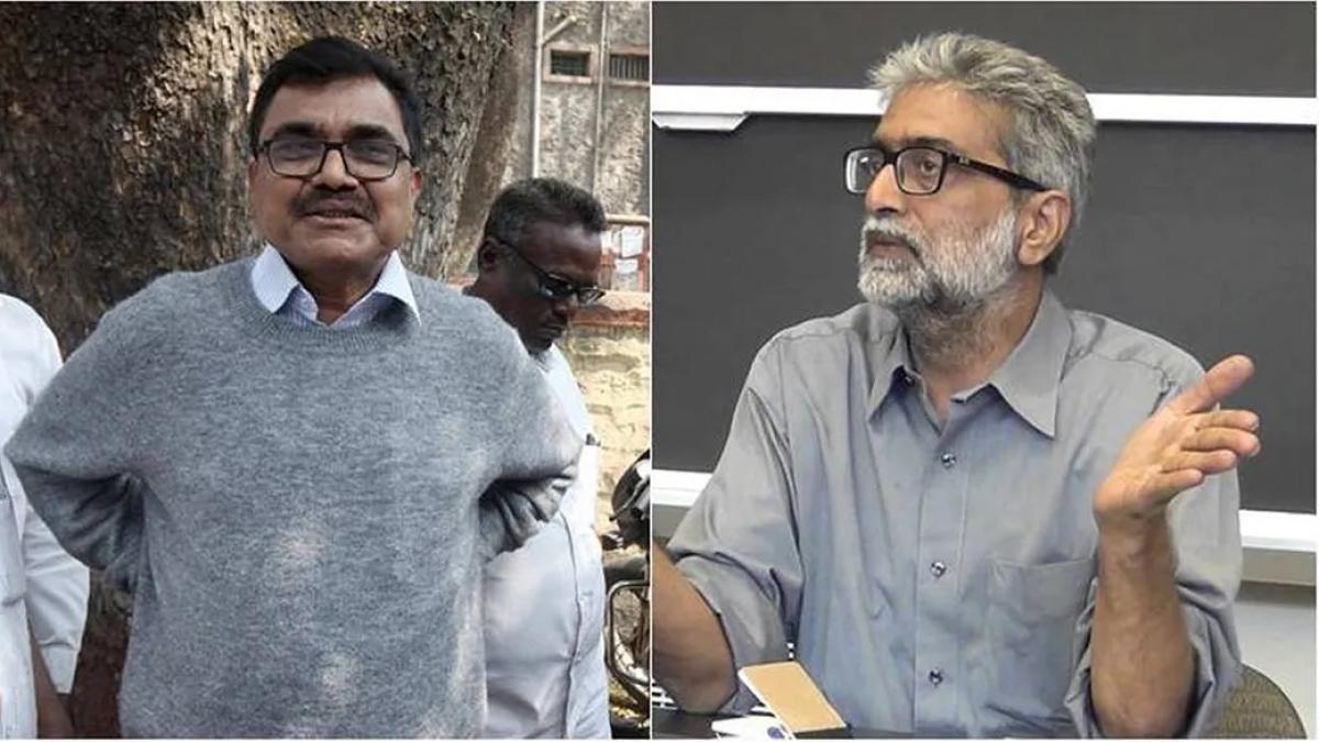 Gautam Navlakha, denied bail by Supreme Court, thanks Justice Arun Mishra