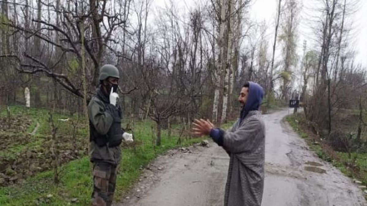 An entire village is on the edge after Kashmir records its first COVID-19 death
