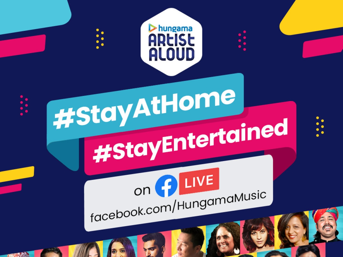 Bored? Now enjoy  social distancing with 14-day Hungama live concert starting from April 1