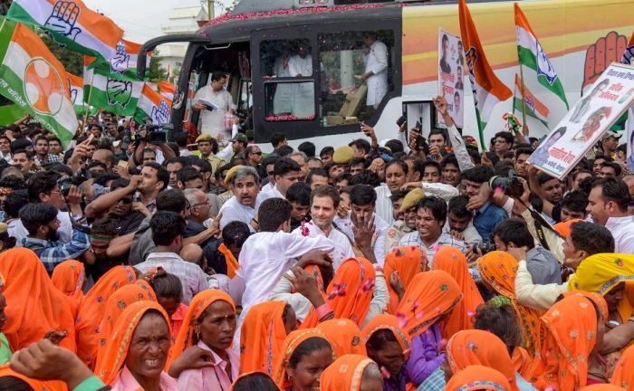 Rajasthan: Satta market says people want the Congress to come back