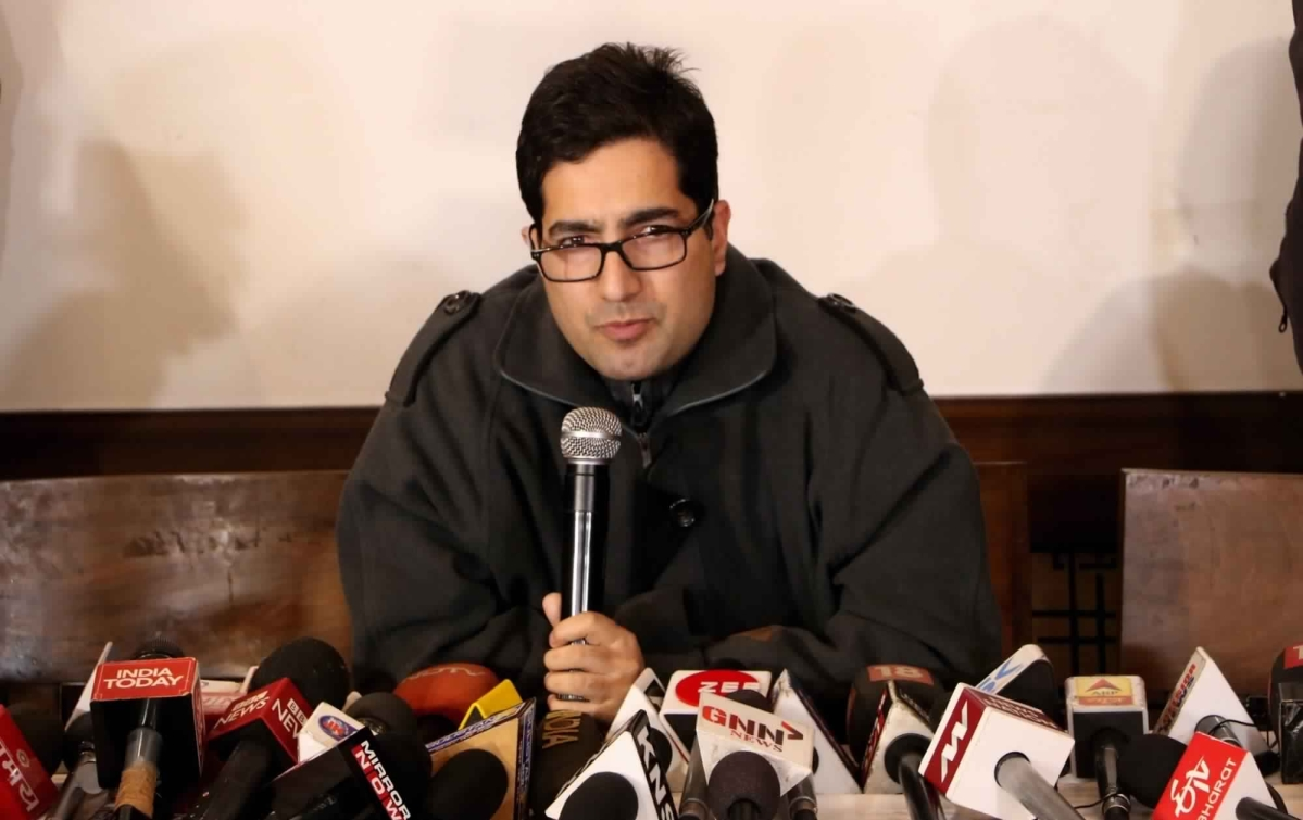 Live news updates: Shah Faesal shifted to detention centre