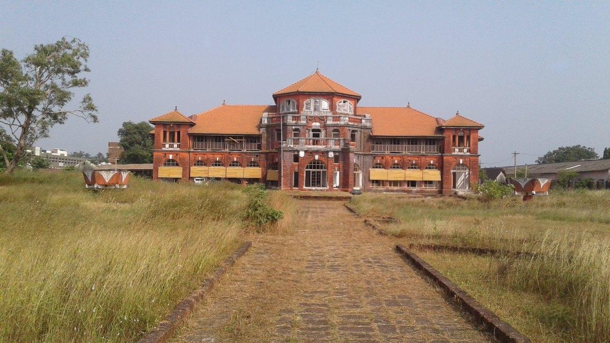 रत्नागिरी में किंग थिबा का पैलेस/ फोटो:Twitter