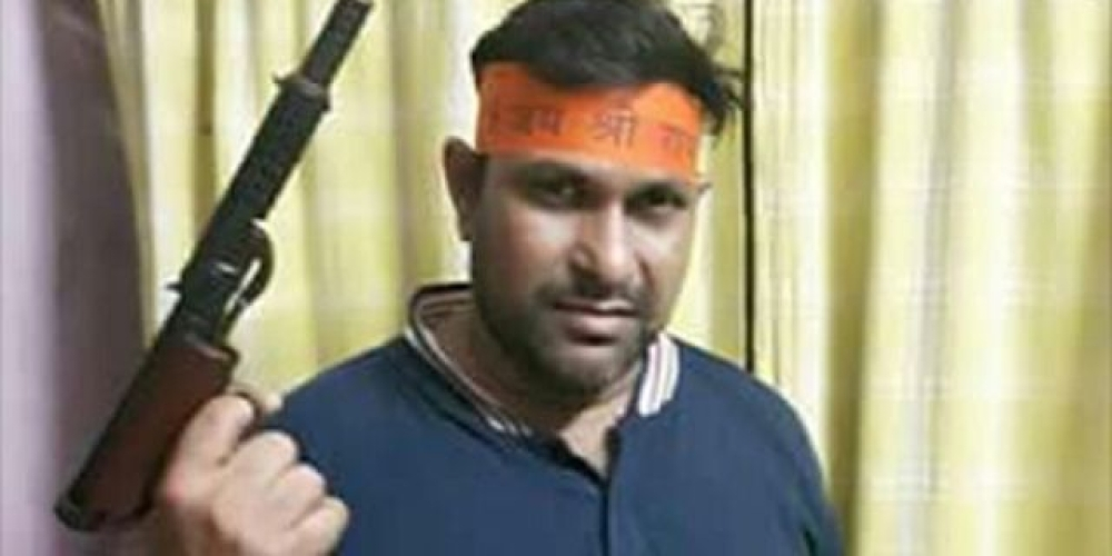 गिरफ्तार किया गया बंगाल बीजेपी का नेता संतोष