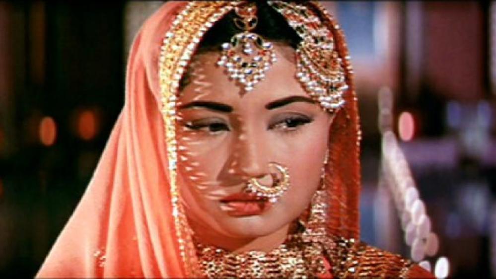 'पाकीजा' फिल्म में मीना कुमारी