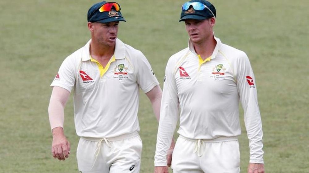 ऑस्ट्रेलिया के कप्तान स्टीव स्मिथ और उप कप्तान डेविड वॉर्नर