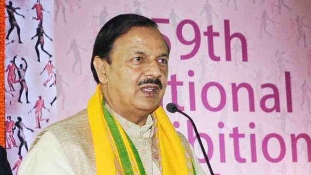 केन्द्रीय संस्कृति मंत्री महेश शर्मा