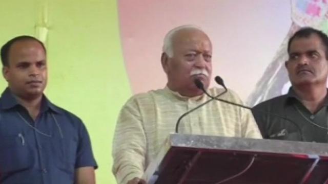 मोहन भागवत ने फिर दिया राम मंदिर पर बयान