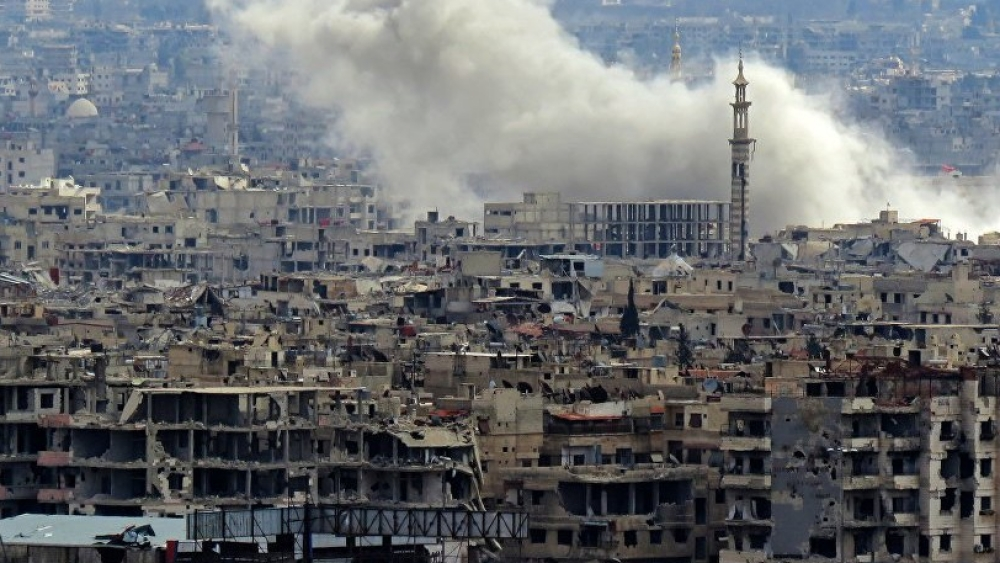 सीरिया में 'रासायनिक' हमला
