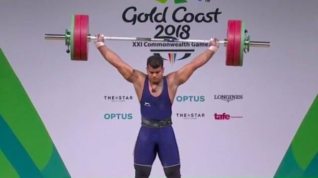 वेटलिफ्टिंग में वेंकट राहुल ने जीता स्वर्ण पदक