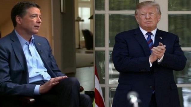 एफबीआई के पूर्व निदेशक जेम्स कॉमे ने राष्ट्रपति ट्रंप पर किया बड़ा खुलासा