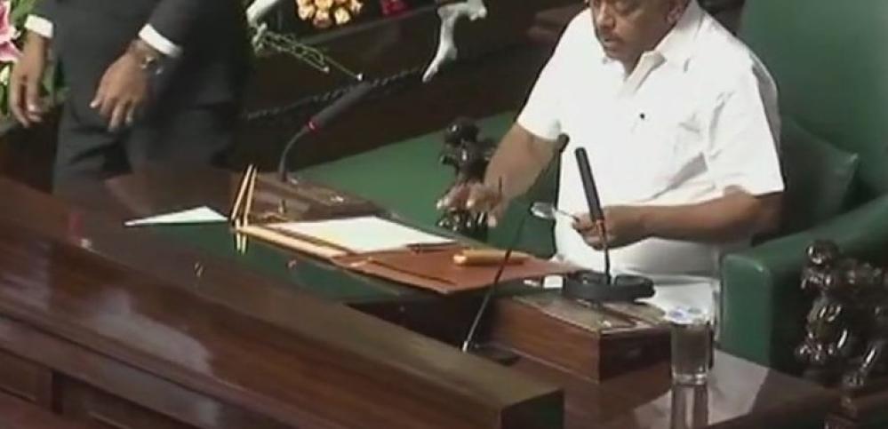 कर्नाटक: विधानसभा अध्यक्ष रमेश कुमार