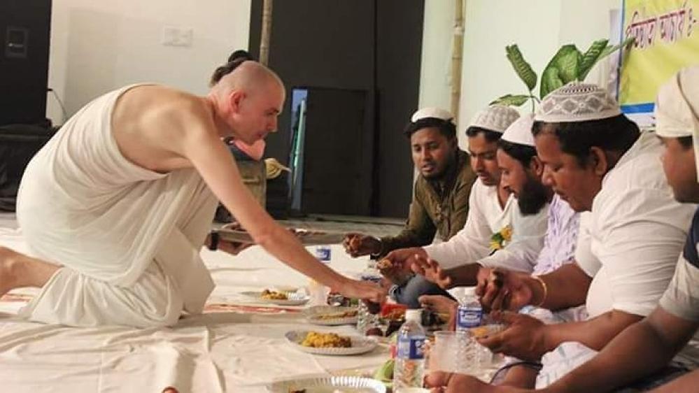 इस्कॉन मंदिर ने मुस्लिम रोजेदारों के लिए इफ्तार का आयोजन किया (फाइल)