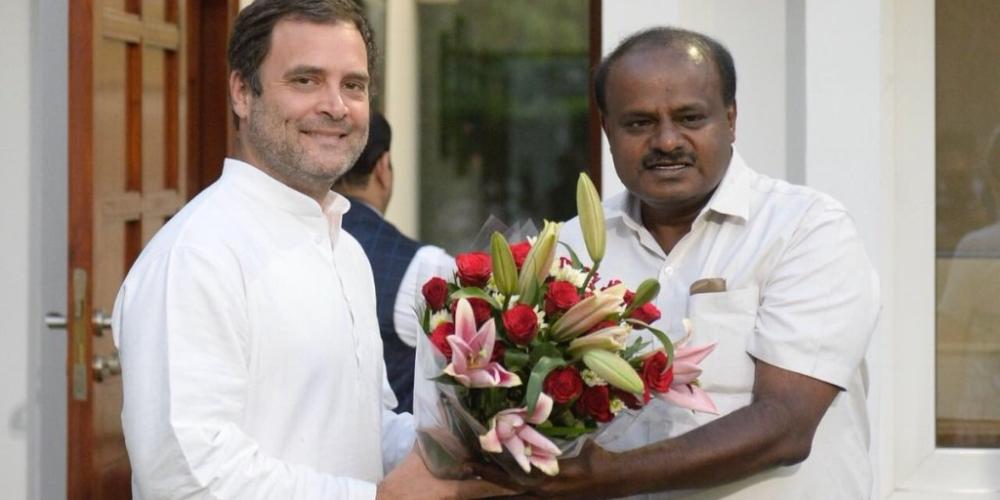 कर्नाटक में राहुल गांधी की राजनीतिक सूझ-बूझ से बीजेपी के बड़े-बड़े सूरमा धराशायी हो गए