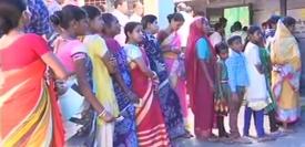 पश्चिम बंगाल में पंचायत चुनाव के लिए मतदान