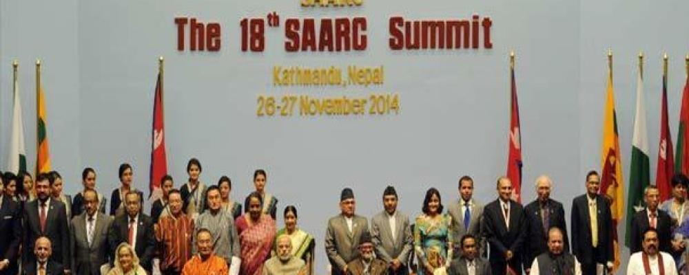 2014 के सार्क सम्मलेन में पीएम मोदी (फाइल)