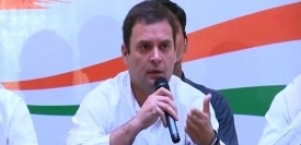 कांग्रेस अध्यक्ष राहुल गांधी ने दिया पीएम मोदी को चैलेंज