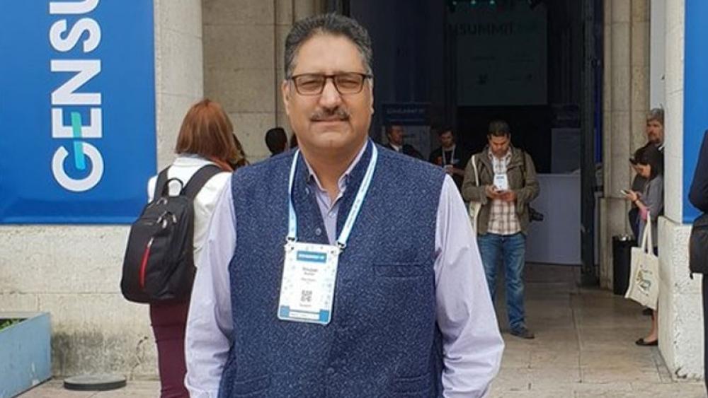 राइजिंग कश्मीर के संपादक शुजात बुखारी (फाइल फोटो)