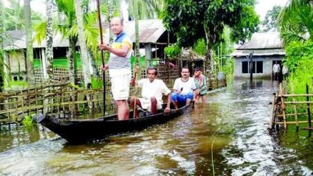 पूर्वोत्तर में बाढ़ का कहर