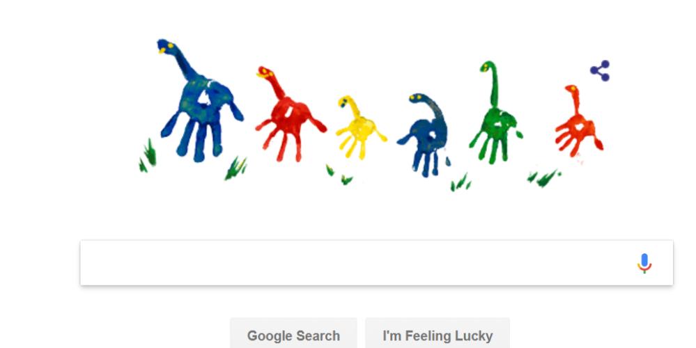 फादर्स डे पर गूगल ने बनाया डूडल