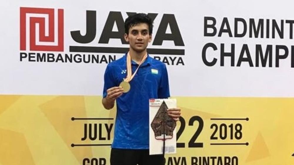 बैडमिंटन जूनियर एशिया चैम्पियनशिप में लक्ष्य सेन ने जीता स्वर्ण पदक