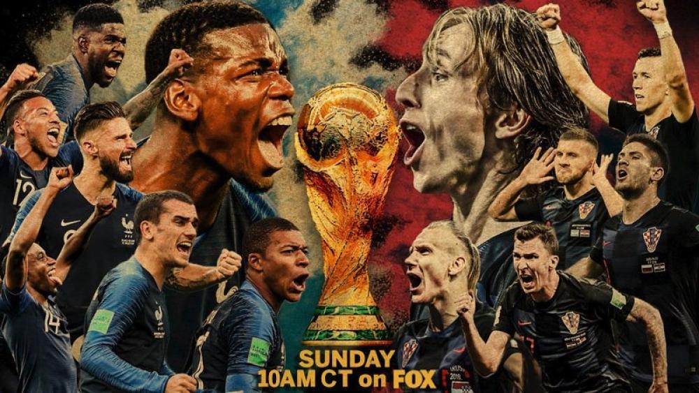 फीफा विश्व कप का फाइनल आज फ्रांस और क्रोएशिया के बीच खेला जाएगा