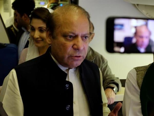 पाकिस्तान के पूर्व प्रधानमंत्री नवाज शरीफ