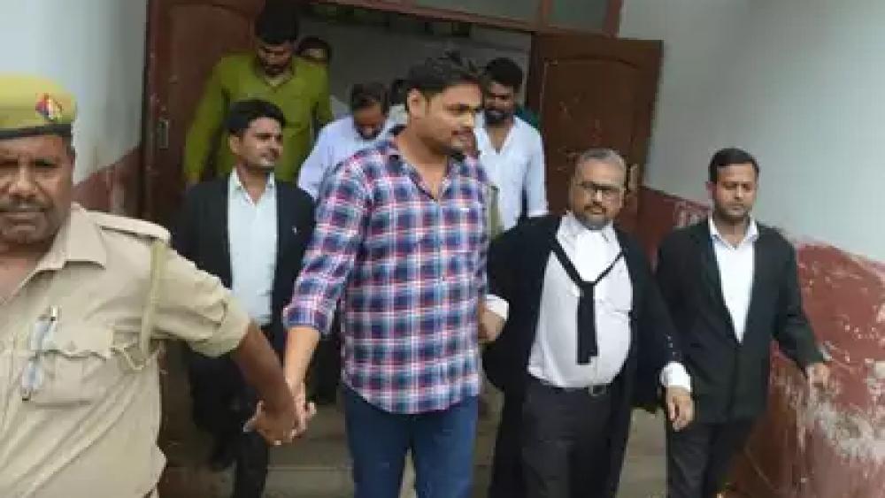फैजाबाद जेल में धारा 307 के तहत बंद आरोपी शिवेंद्र सिंह