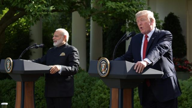 पीएम मोदी और अमेरिका के राष्ट्रपति डोनाल्ड ट्रंप