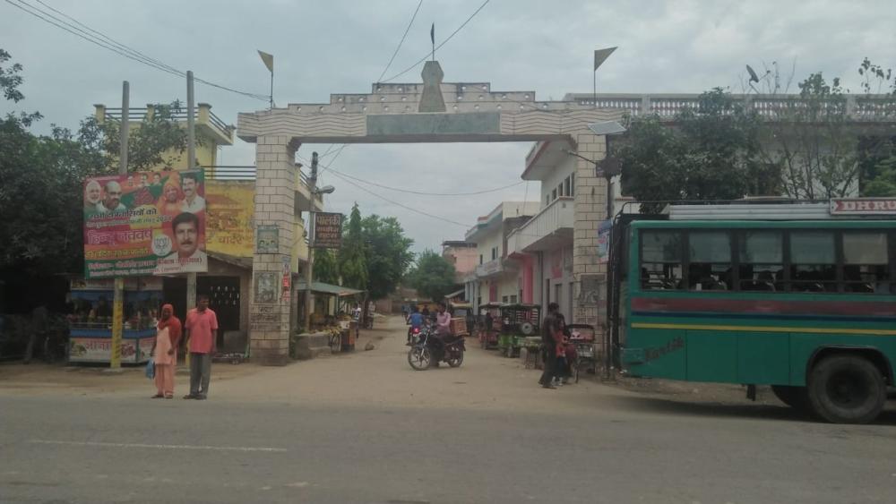 मुजफ्फरनगर जिले का वह इलाका जहां 2013 में दंगे की शुरुआत हुई थी।