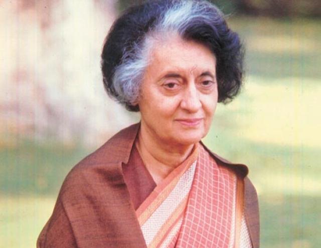 भारत की पूर्व पीएम इंदिरा गांधी (19 नवंबर, 1917-31 अक्टूबर,1984)