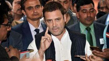 कांग्रेस अध्यक्ष राहुल गांधी की फाइल फोटो