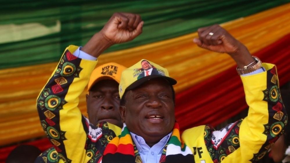 जिम्बाब्वे में एमर्सन नगांग्वा ने जीता राष्ट्रपति चुनाव