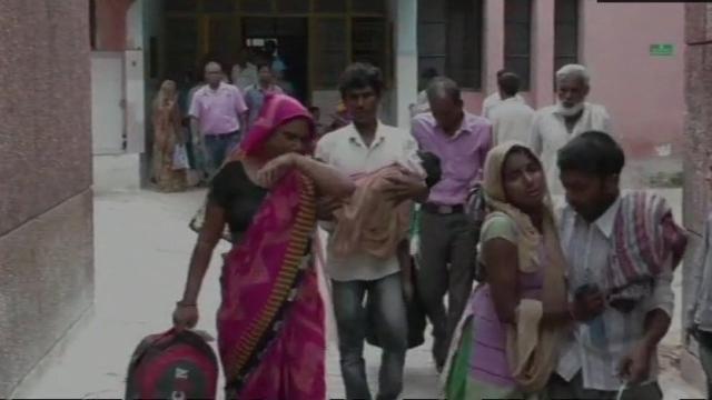 उत्तर प्रदेश के बहराइच में दिमागी बुखार से कोहराम, 45 दिनों में 71 बच्चों की मौत