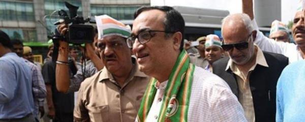 दिल्ली कांग्रेस अध्यक्ष अजय माकन के इस्तीफे की खबर का पार्टी ने किया खंडन